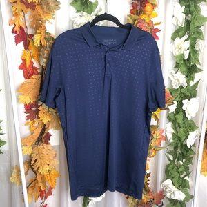 Nike Golf Blue Polo Short Sleeve